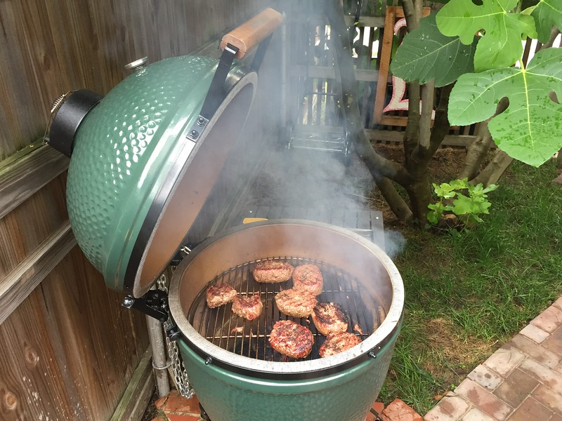 July 4th BBQ via The Green Egg.