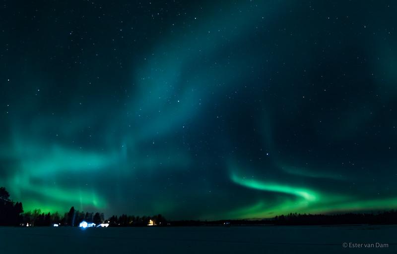 Northern Lights, Mieluskyla, 24.12.2016 III