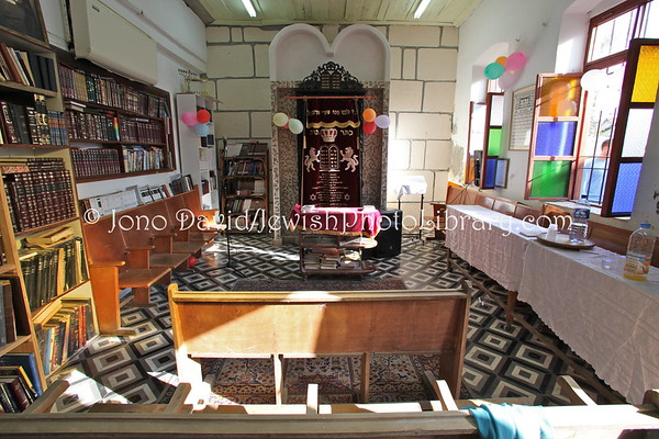 ISRAEL, Tel Aviv, Neve Tzedek. Chevra Shas (a.k.a. Sharei Torah) (Neve Tzedek) Synagogue. (3.2012)