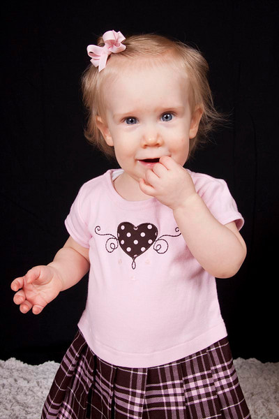 Kylee at one year