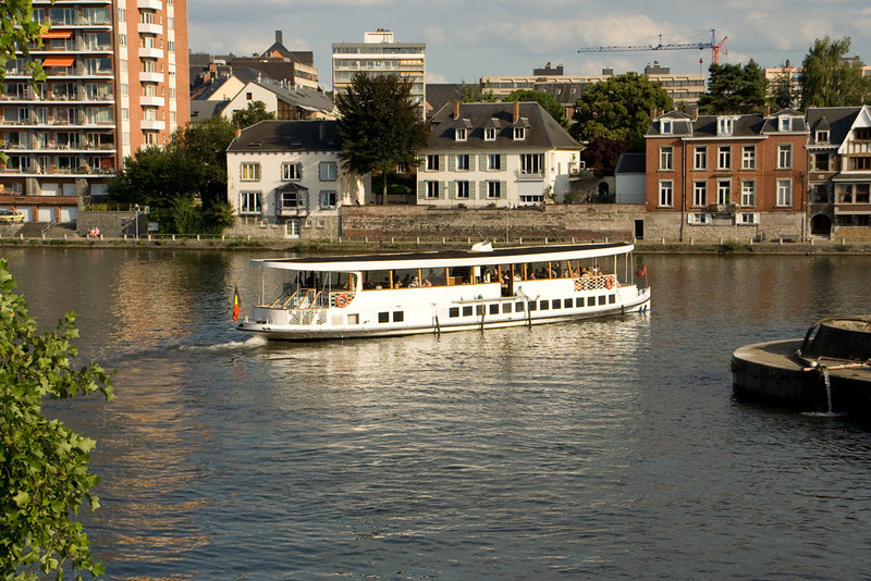 Namur. Tour boat.