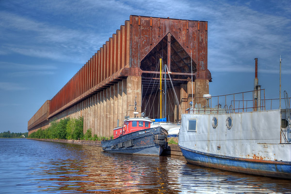 Ore Dock in Superior, WI