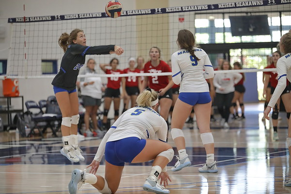 Keiser Volleyball Invitational   Day 2   8/19/21 Set 2 of 2