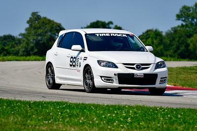 2021 SCCA Pitt Race Aug TT White 981 Mazda