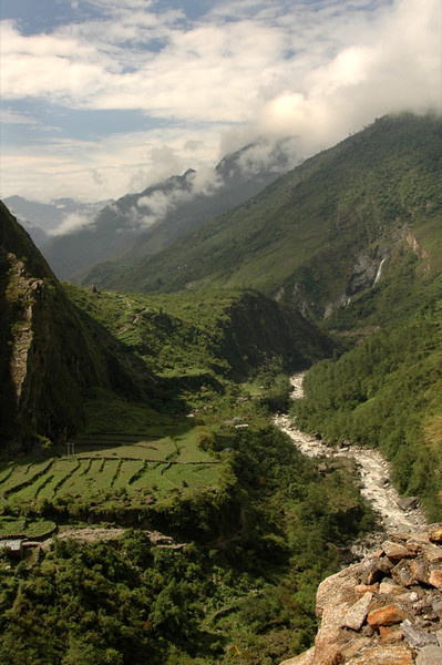 Green Hills and Valleys - Annapurna Circuit, Nepal