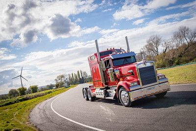 Clive Shaw Truck Driving Experience