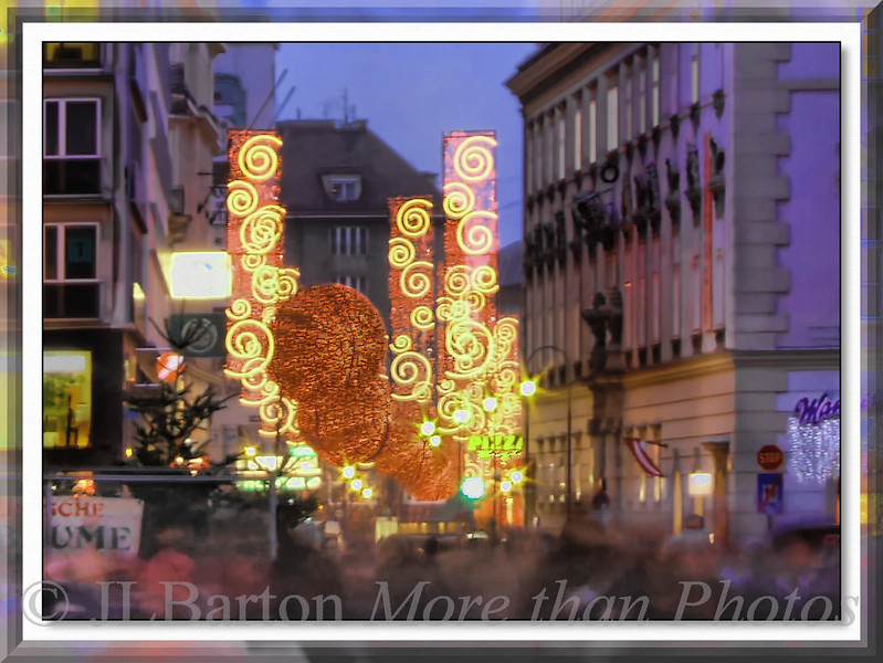 Christmas Lighting #2 Rotenturm Strasse