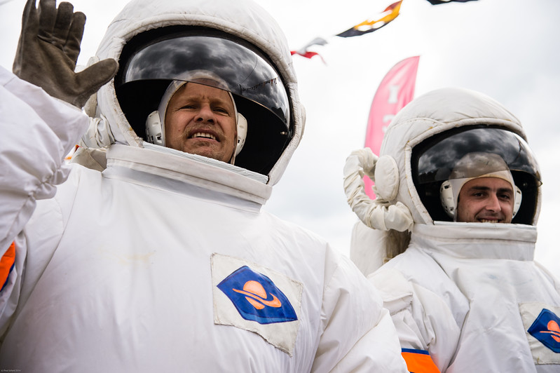 Cosmonauts - larger than life