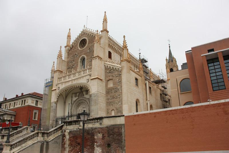That fancy church again.