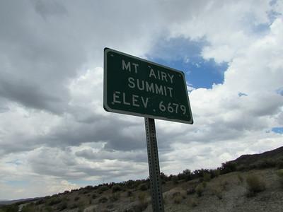 NV- Mt. Airy Summit