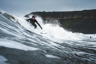 15/5/21: Surfing - Cayton Bay