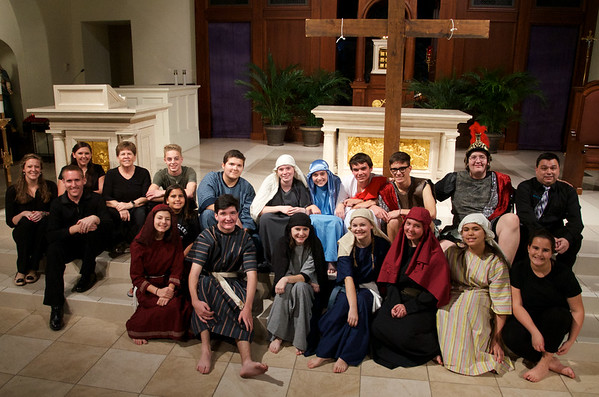 Corpus Christi Parish Youth Present The  Living Passion