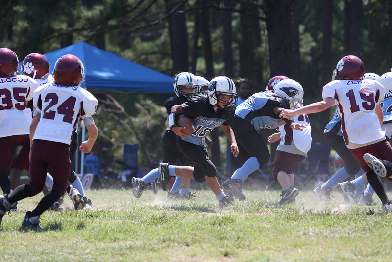 Bulldogs Vs Panthers (Juniors) - (MYFA) Magnolia Youth Football