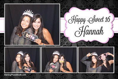 Hannah's Sweet 16