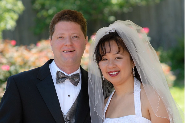 John and Mai's Wedding Portraits