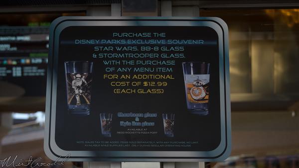 Disneyland Resort, Disneyland, Tomorrowland, Galactic Grill, Galactic, Grill, Terrace, Star, Wars, Star Wars, Cup