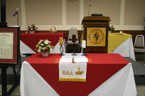 2011 Freshman Honor Society Induction