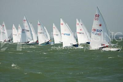 US Sailing Youth Champs, regatta day 1, 6/29/08