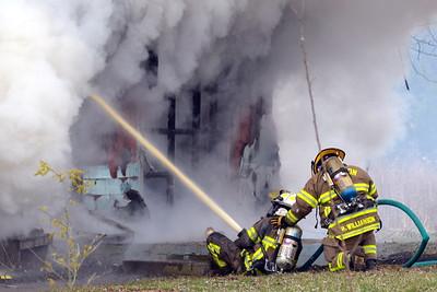 03-22-13 Jackson Twp FD House Fire