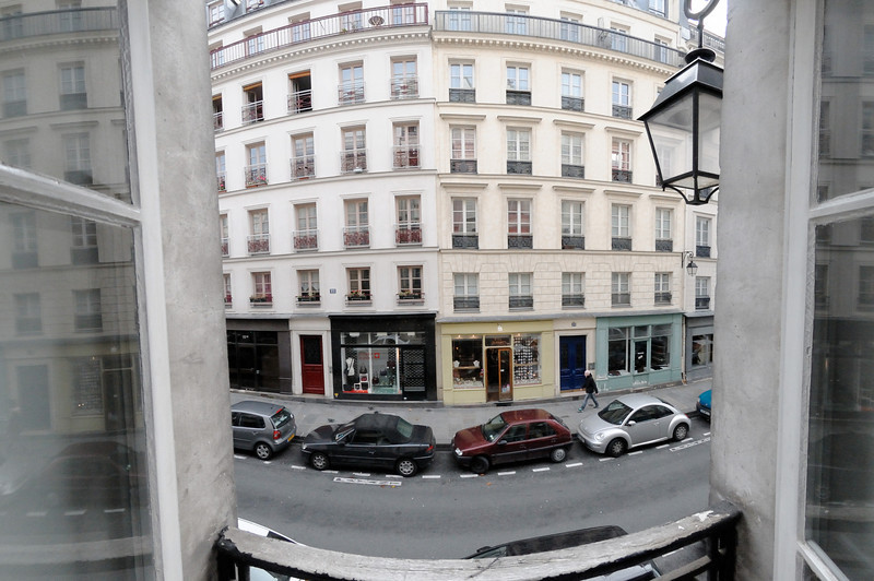 The view from one of the windows of our apartment.