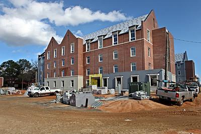 New Freshman Dorm Construction