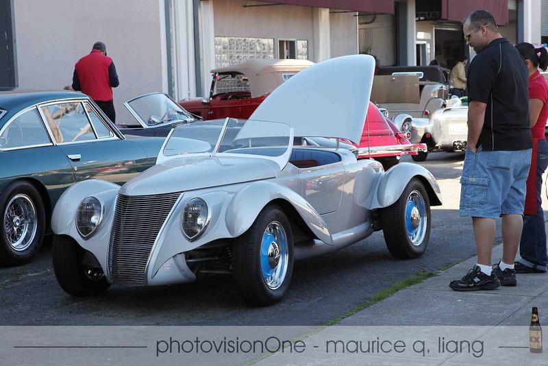 Jay Eitel's custom built roadster.