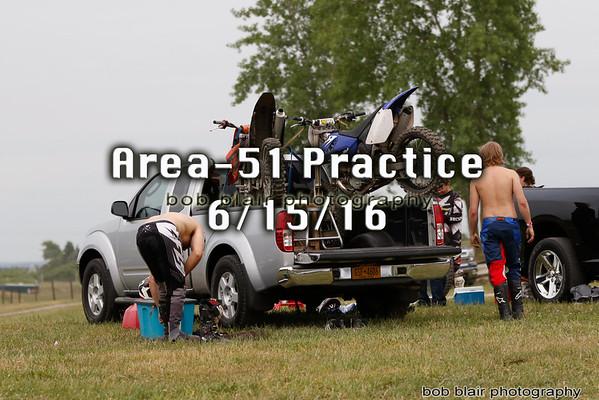 Area 51 Motocross Practice 6/15/16