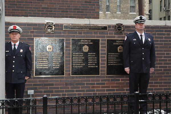 2013-12-09 Fallen Firefighter Memorial E 42 quarters