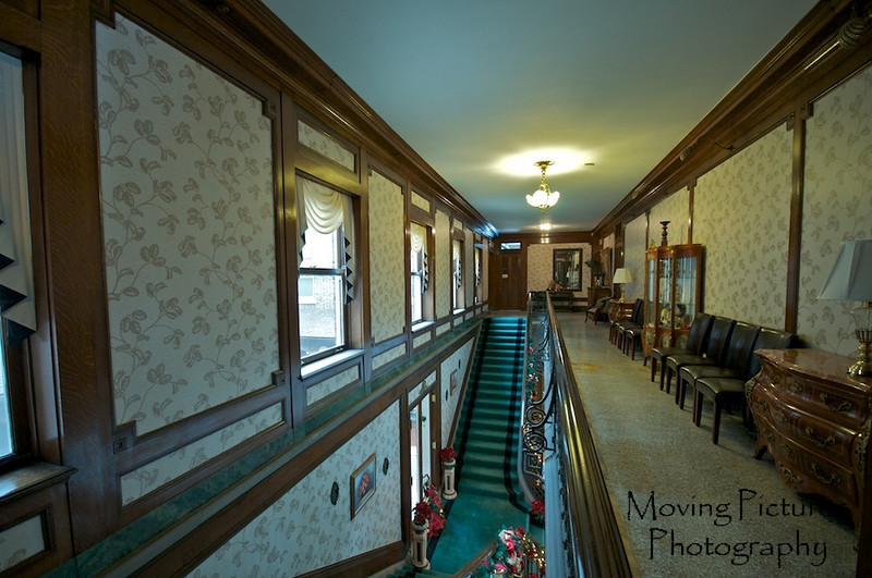 Laurel Court - Main staircase to second floor