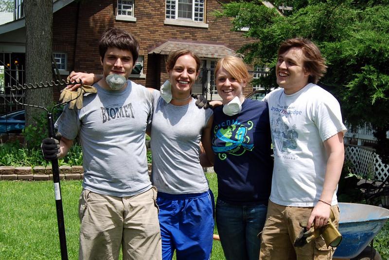 Alex Moon, Eric Moon, Jessica Goldner, Avery Hollenback. Carolyn Ledder