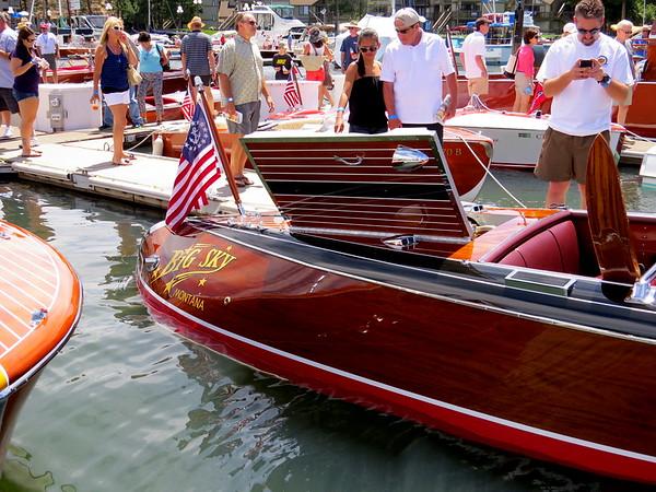 "1947 21′ Stan-Craft Torpedo Runabout ""Big Sky"""