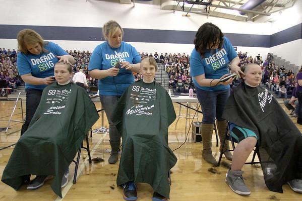 St. Baldricks  Marysville  Middle School Shave