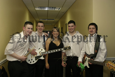 """The Go-Geters Band who performed at the Big Hospice Fund Raising Night """"Bop to you Drop"""" in the Canal Court.06W07N51"""