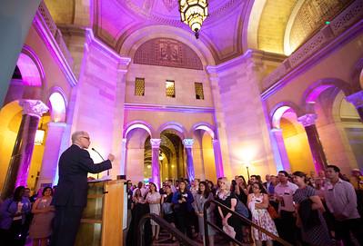 Alumni reception at Los Angeles City Hall