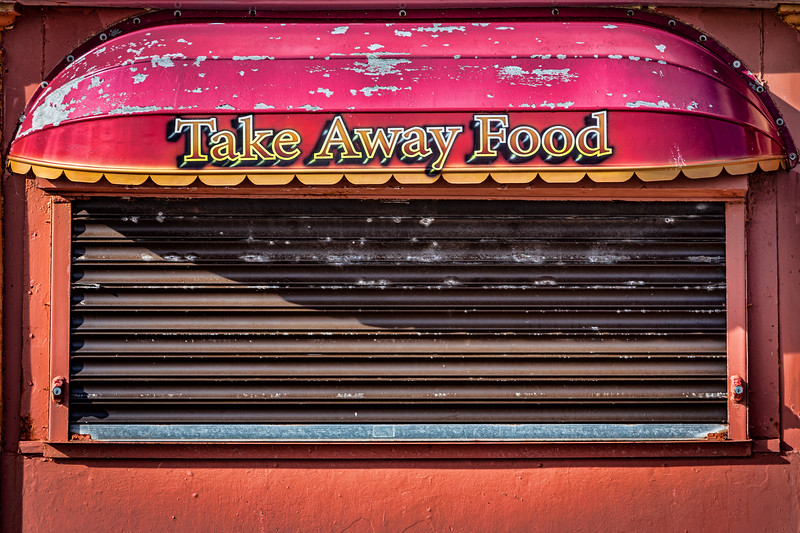 Take Away Food - Not Today