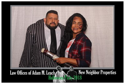 Adam Leech Halloween Party