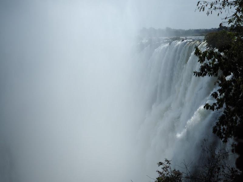 Victoria Falls mist