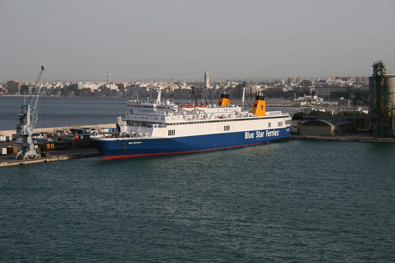 2008 - F/B BLUE HORIZON moored in Bari.