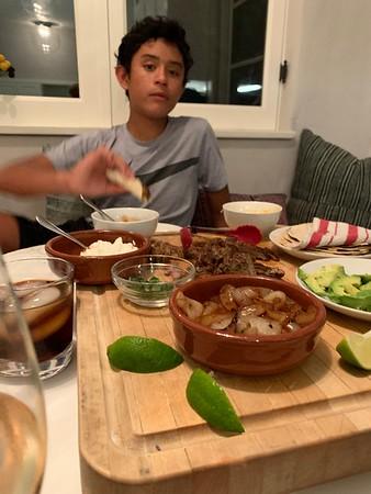2019.08.11 Carne Asada dinner