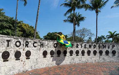 Protesto Brasileiros Miami