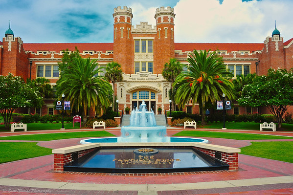 The Westcott Building on the Florida State University campus in Tallahassee.