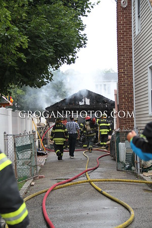Irene St Garage Fire 6/17/15