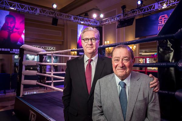 Bob Arum and Ed Tracy