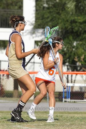 University @ Boone Girls JV Lacrosse - 2012