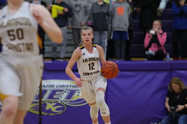 Basketball Girls Varsity Districts vs Hackett KCHS 3/6/20