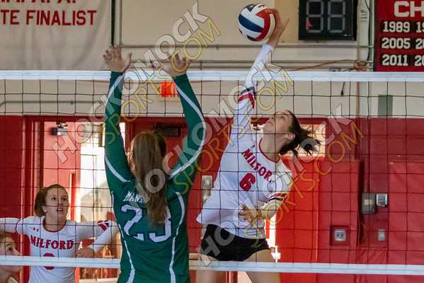 Milford-Mansfield Volleyball - 09-18-19