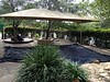 shade structure over sandpit