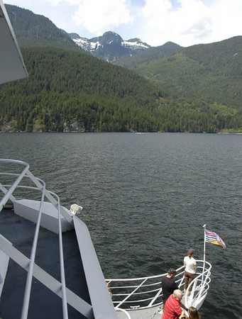4th day - Indian Arm cruise