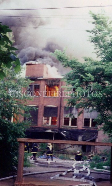 New Haven Fires 1995