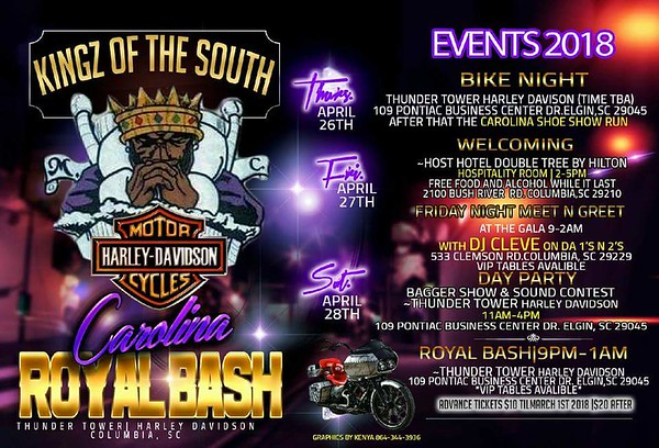 KOTS COLUMBIA SC ROYAL BASH 2018